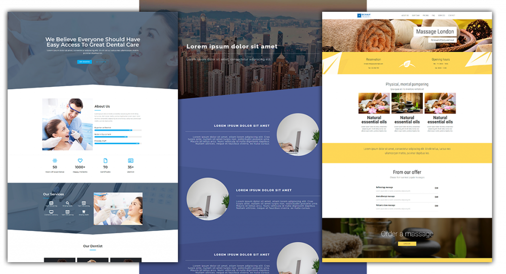 Free page template